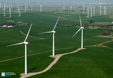 Windmills positioned to take advantage of the frequent and reliable winds