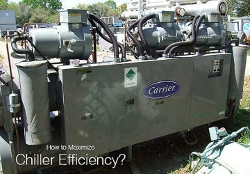 How to Maximize Chiller Efficiency? (on photo Carrier Chiller Water Cooled)