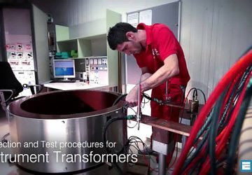 Inspection and Test procedures for Instrument Transformers
