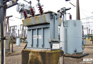 Earthing (grounding) transformer - Voltages during a ground fault