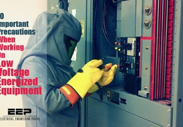 10 Important Precautions When Working On Low Voltage Energized Equipment