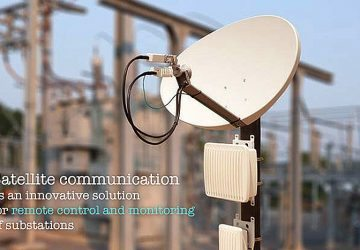 Satellite communication as an innovative solution for remote control and monitoring of substations