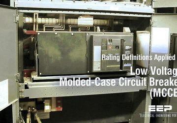 Rating Definitions Applied to Low Voltage Molded-Case Circuit Breaker (MCCB)
