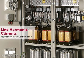 Line Harmonic Currents – Adjustable Frequency Control Created