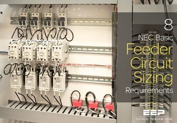 8 NEC Basic Feeder Circuit Sizing Requirements