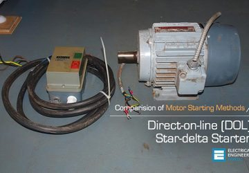 Comparision of Direct-on-line (DOL) and Star-delta Motor Starting