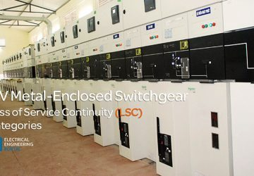 MV Metal-enclosed Switchgear and Loss of Service Continuity (LSC) Categories