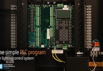 Let's develop the simple PLC program for lighting control system