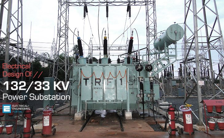 Electrical Design of 132/33KV Substation (on photo: Construction of 132/33kV Substation