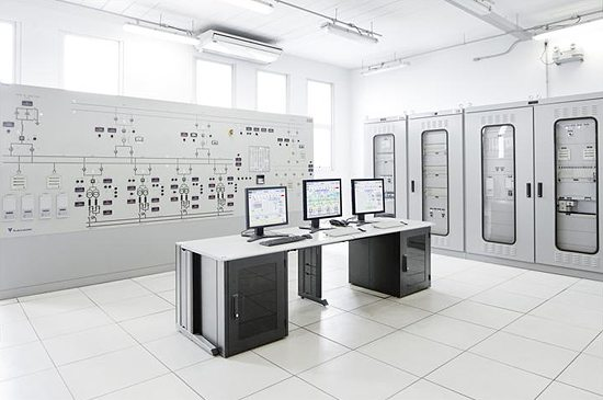 Substation control system - HMI computers