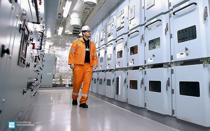 Power plants on board of big ships
