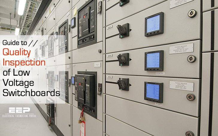 Guide to Quality Inspection of Low Voltage Switchboards