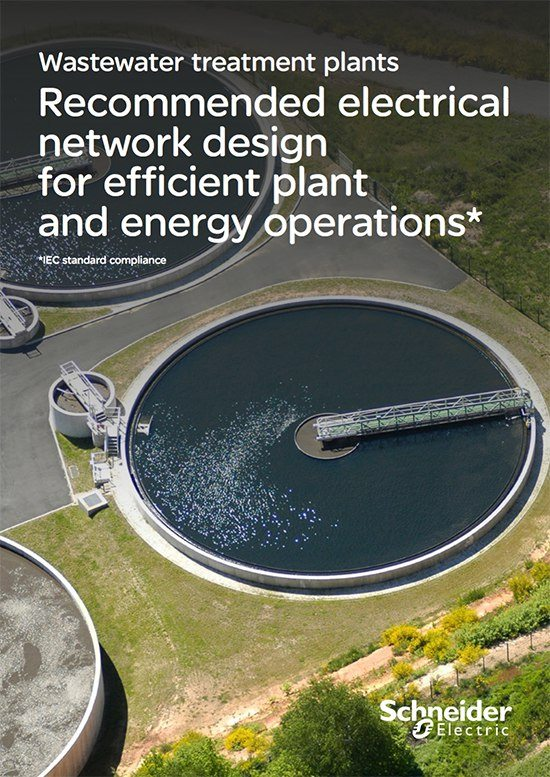 Recommended electrical network design for efficient wastewater treatment plants - Schneider Electric