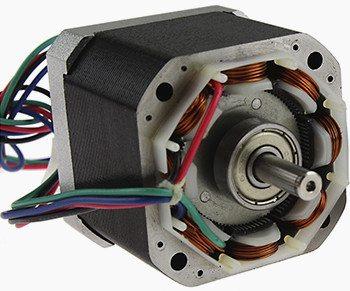 Stepper motor inside