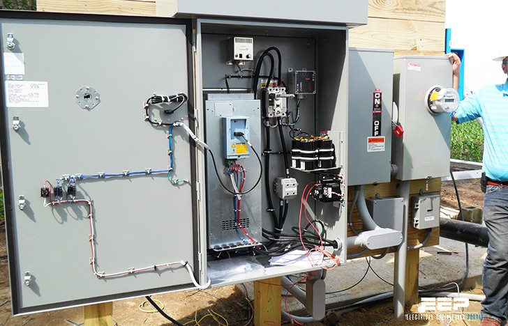 Variable speed drive converts single phase electricity to three phase electricity, which is needed to run large agricultural and farming equipment like irrigation units and grain elevators
