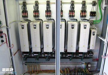 Installing AC converter into metal enclosure