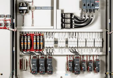 Connections and routing tips for wiring industrial control panel