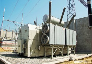 Connecting transmission systems with system intertie transformers (on photo: ABB's 500 MVA transformers delivered to Oltarzew substation in Poland)