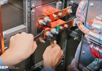 Performing In-Process Inspection Of Low Voltage Switchboard In 8 Stages
