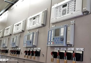 Busbar protection in power transmission and distribution substations