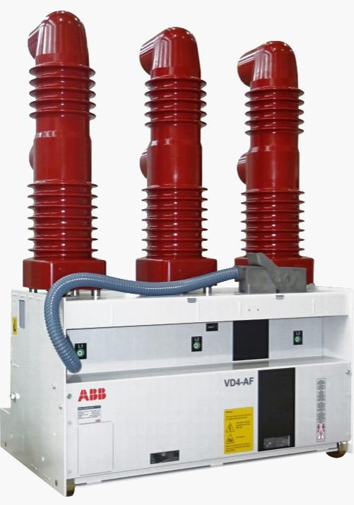 Circuit breaker forsteel furnace operation type ABB VD4-AF