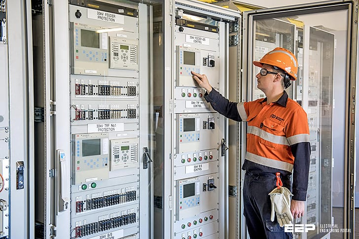 Protection scheme for remote private substation with small generator