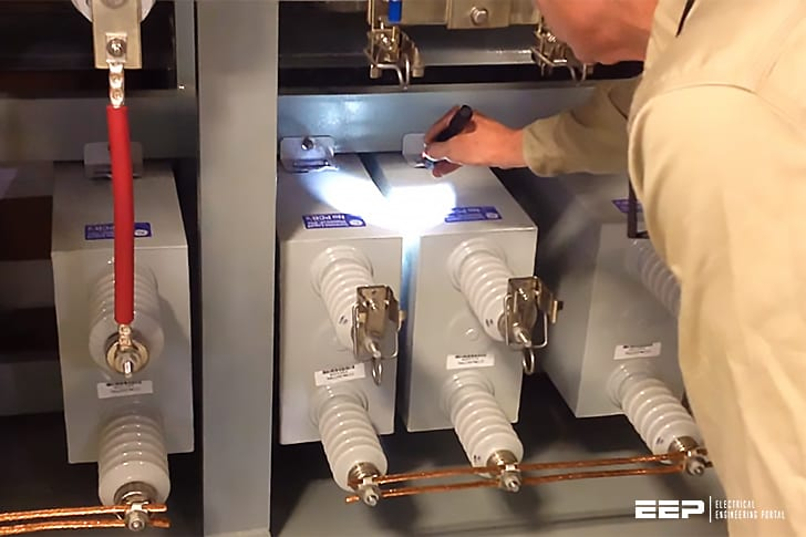 Inspection and maintenance of capacitor banks (recommended practices)