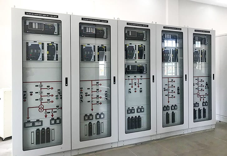 Control and protection panels