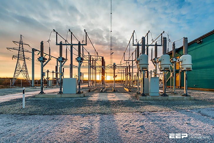 6 most common bus configurations in substations up to 345 kV