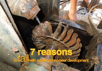 7 reasons to fail with small hydro-power development