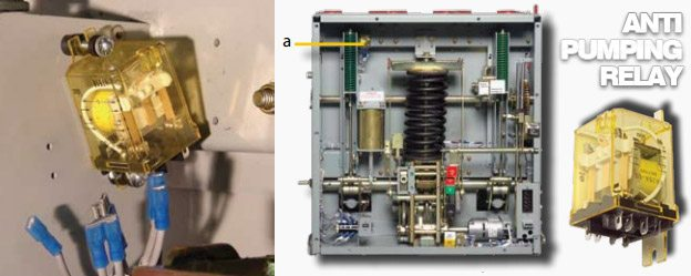 Anti-pumping relay - Powell