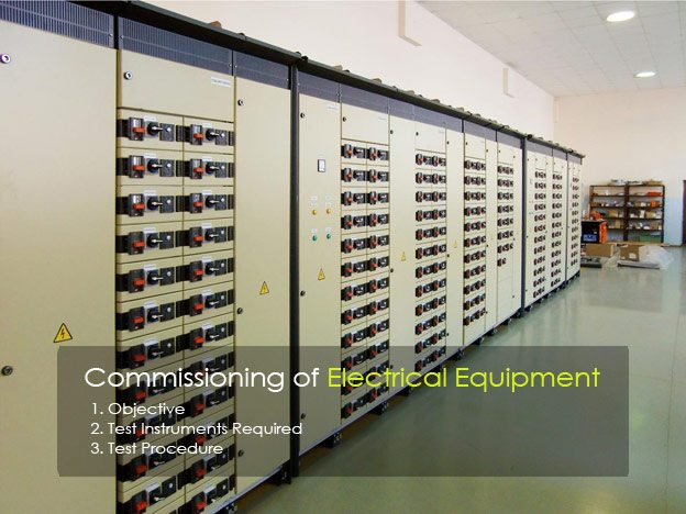Commissioning of Electrical Equipment (on photo OKKEN Low Voltage Switchgear - Schneider Electric)