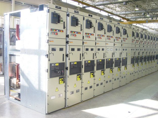 Distribution substation - 20/04kV MCset metal-clad switchgear  (Schneider Electric)