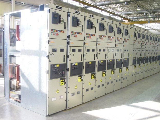 Distribution substation - 20/04kV MCset metal-clad switchgear  (Schneider Electric)
