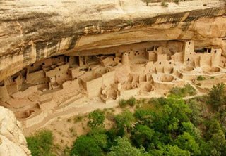 Figure 1: Mesa Verde cliff dwellings
