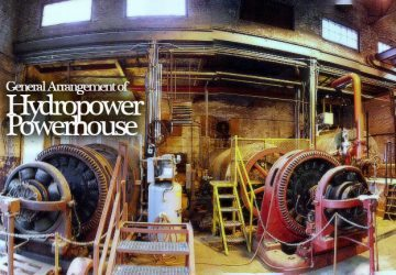 General Arrangement of Hydropower Powerhouse