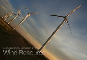 Geographical Variation in the Wind Resource