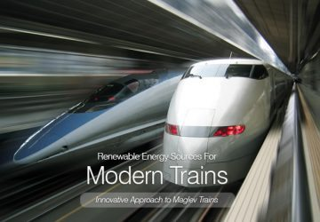 Renewable Energy Sources For Modern Trains