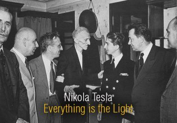 Tesla meets King Peter II of Yugoslavia on July 15, 1942