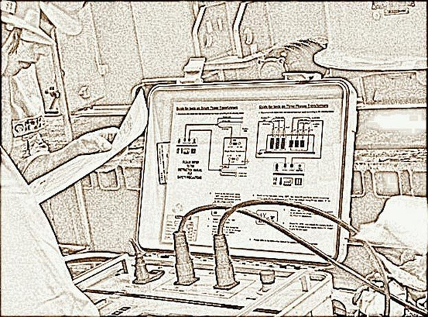 Power transformer testing procedures eep for Electrical substation design fundamentals pdf