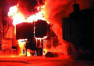 Risk and Consequences Of Transformer Fire