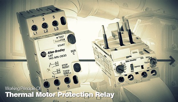 Working Principle Of Thermal Motor Protection Relay