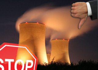 Thumbs down to the nuclear energy