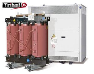 Trihal transformer (IP00; IP31)