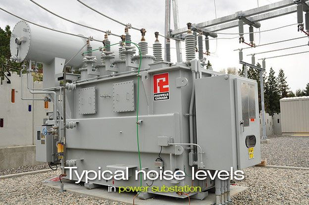 Typical noise levels in power substation for Substation design pdf