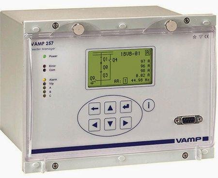 VAMP 257 Feeder manager relay