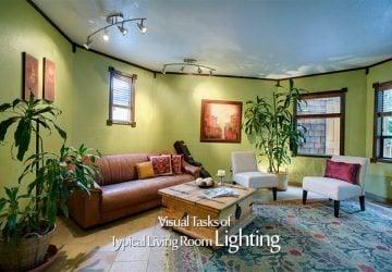 Visual Tasks of Typical Living Room Lighting